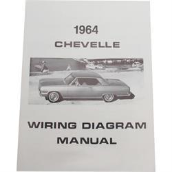 Jim Osborn MP0088 64 Chevelle Wiring Diagrams