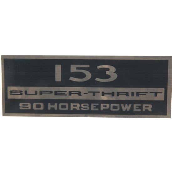 Jim Osborn DC0978 Super Thrift 153 90HP Valve Cover Decal, 64-66 Nova