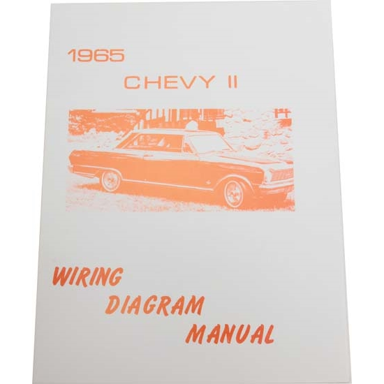 Jim Osborn MP0104 65 Chevy II Nova Wiring Diagrams