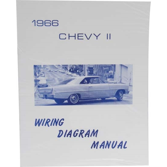 [SCHEMATICS_48EU]  Jim Osborn MP0105 1966 Chevy II/Nova Wiring Diagrams | 1966 Chevy Ii Wiring Diagram |  | Speedway Motors