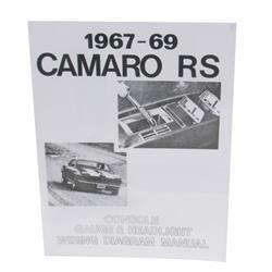 Jim Osborn MP0050 1967-69 RS Headlight & Console Wiring Manual