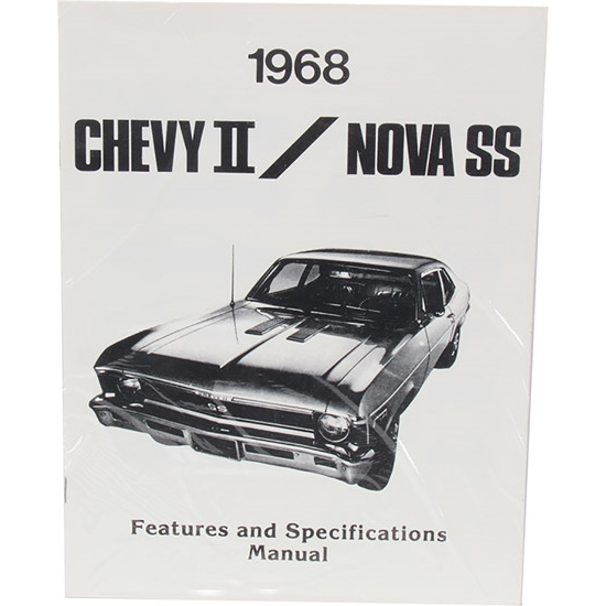 Jim Osborn MP0087 1968 Nova Illustrated Facts Manual