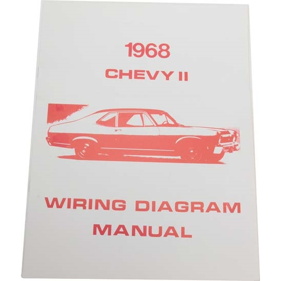 Jim Osborn Mp0107 1968 Chevy Ii Nova Wiring Diagrams