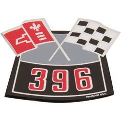 Jim Osborn DC0001 Crossed Flag 396 Emblem