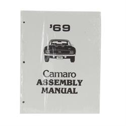 Jim Osborn MP0074 Assembly Manual, 1969 Camaro