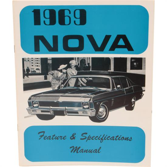 Jim Osborn MP253 1969 Nova Illustrated Facts Manual