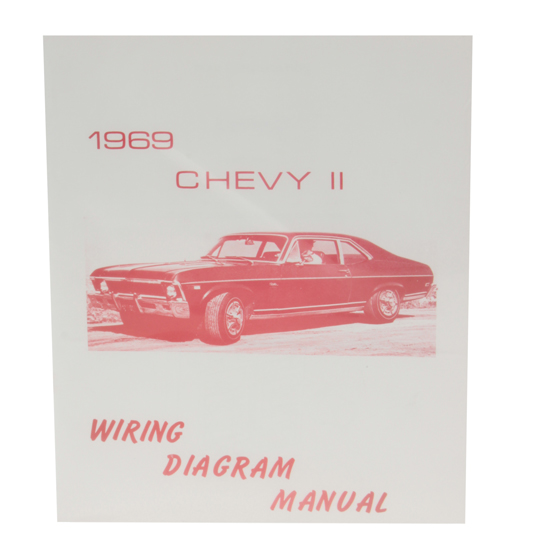 Jim Osborn MP0108 1969 Nova Wiring Diagram Manual