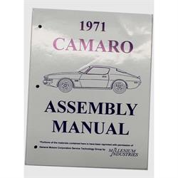 Jim Osborn MP0202 1971 Camaro Assembly Manual