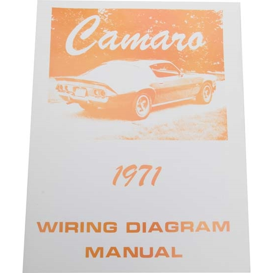 Jim Osborn MP0161 71 Camaro Wiring Diagrams