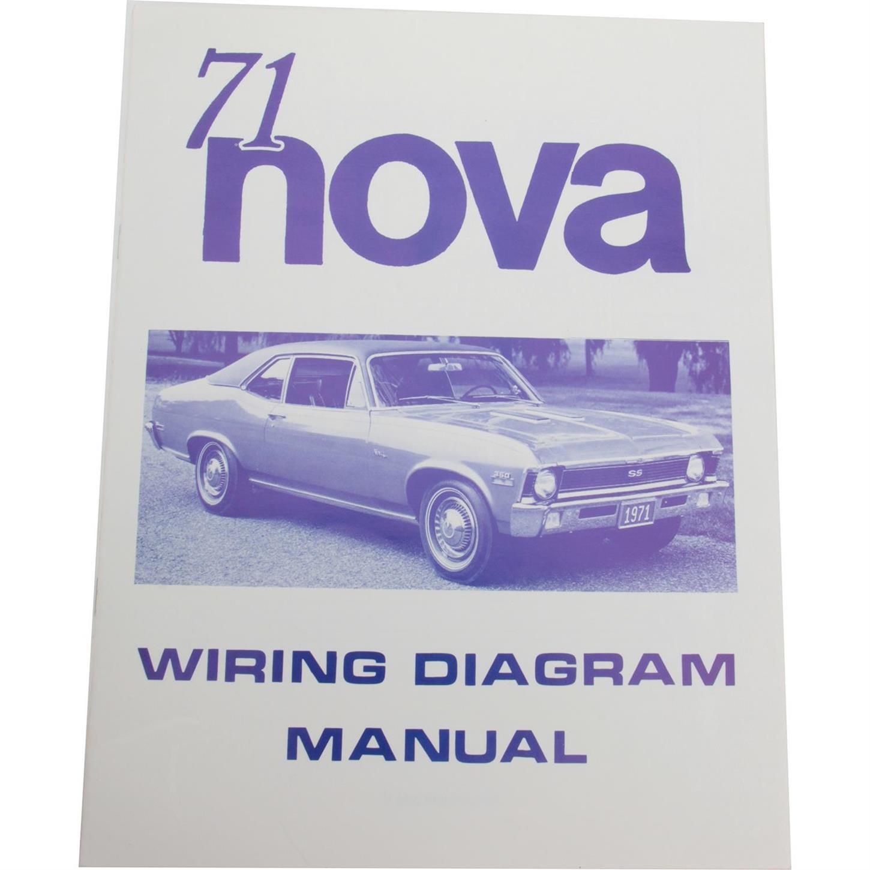Jim Osborn MP0162 1971 Chevy Nova Wiring DiagramsSpeedway Motors