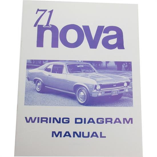 Jim Osborn MP0162 71 Chevy II Nova Wiring Diagrams