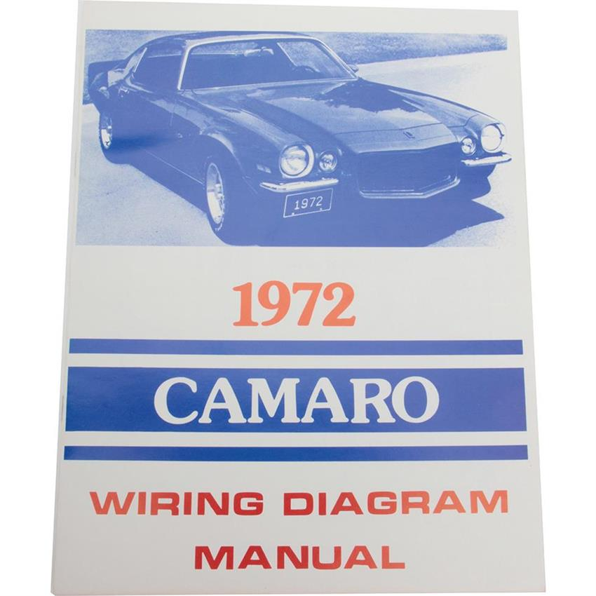 Jim Osborn Mp0174 1972 Camaro Wiring Diagrams