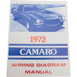 Jim Osborn MP0174 72 Camaro Wiring Diagrams