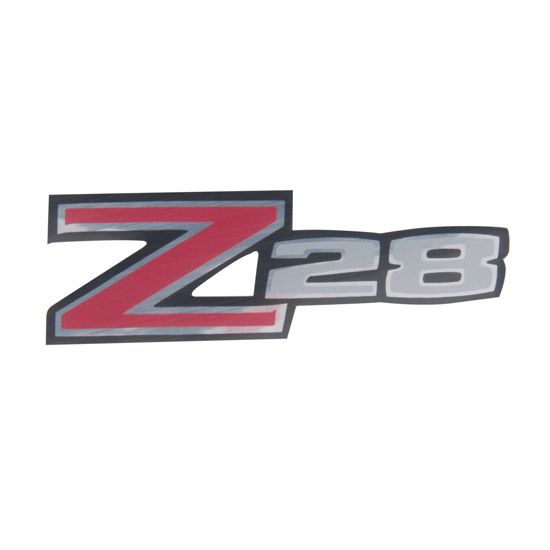 Jim Osborn DC0092 1970-73 Camaro Z28 Rear Spoiler Decal