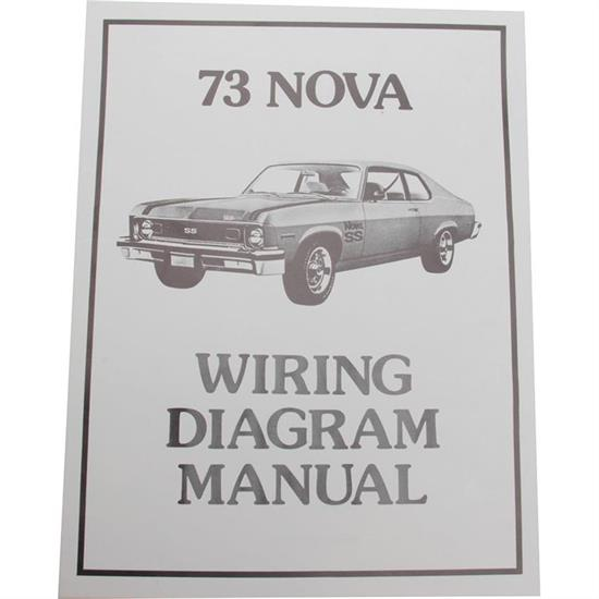 Jim Osborn MP0173 1973 Wiring Diagrams, Chevrolet by the Numbers on