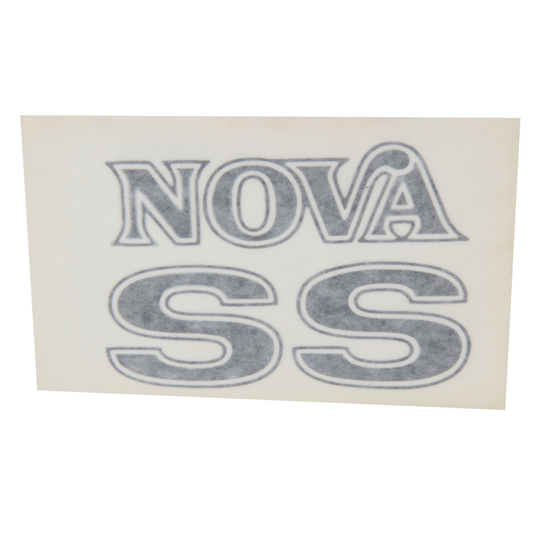 Jim Osborn DC0561 1975-76 Nova SS Fender and Trunk Decal