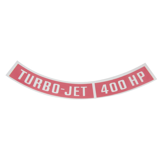 Jim Osborn DC0025 Turbo-Jet 400HP Decal
