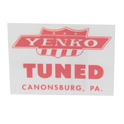 Jim Osborn DC0421 Yenko Window Tuned Decal