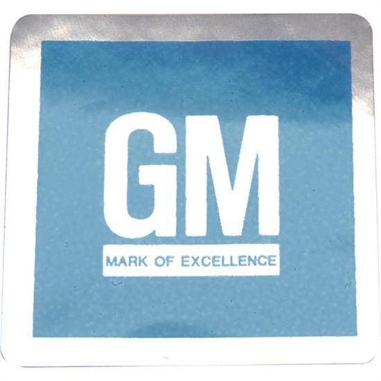 Jim Osborn DC0099 GM Mark of Excellence Blue Door Emblem