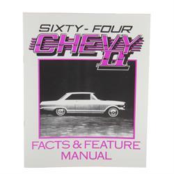 Jim Osborn MP0304 1964 Chevy II Nova Illustrated Facts Manual