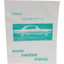 Jim Osborn MP0103 64 Chevy II Nova Wiring Diagrams
