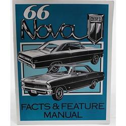 Jim Osborn MP0085 1966 Nova Illustrated Facts Manual