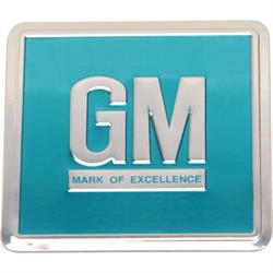 Jim Osborne DC0275 GM Mark of Excellence Door Jamb Emblem