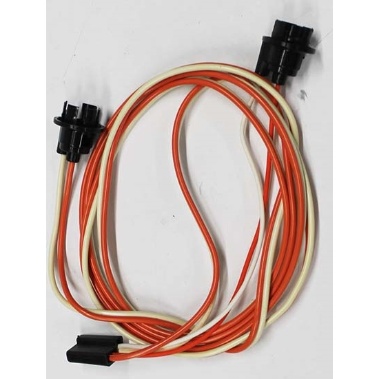 m h electric 8300 under dash courtesy light wire harness 67 68 camaro rh speedwaymotors com
