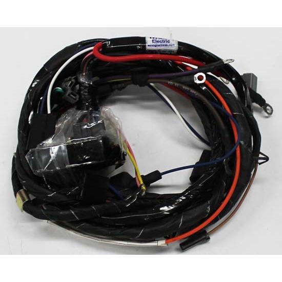 m h electric 16380 engine wiring harness w warning lights 72 nova v8 rh speedwaymotors com 72 chevy nova wiring harness 63 Nova Wiring Harness