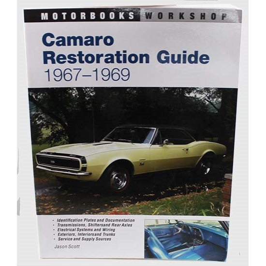 mbi publishing 124433ap camaro restoration guide 1967 69 rh speedwaymotors com 1969 camaro restoration guide camaro restoration guide pdf