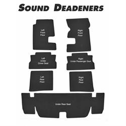 Repops CA136 Carpet Sound Deadener Kit for 1967-69 Camaro, 7 Piece