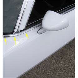 Repops CA164A Style Window Felt Kit w/o Chrome Bead, Camaro/Firebird