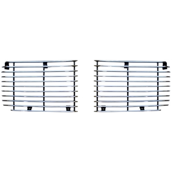 Muscle Car Industries GRI-79 Grille Set, 1970-73 Camaro Rally Sport