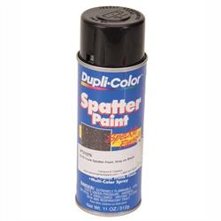 Trunk Spatter Paint Speckle Finish, Black and Gray