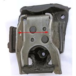 Rubber Motor Mount for Small/Big Block Chevy, Camaro/Nova/Chevelle