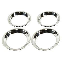 OER TR3125 Trim Ring Set, 15x7, 1967-79 Nova, 1967-81 Camaro
