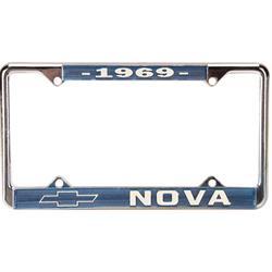 OER LF3566902B 1969 Nova License Plate Frame