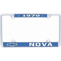OER LF3567002B 1970 Nova License Plate Frame