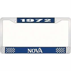 OER LF3567202B 1972 Nova License Plate Frame