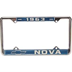 OER LF63N 1963 Chevy II Nova License Plate Frame