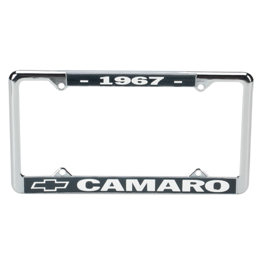 OER LP1967C 1967 Camaro License Plate Frame