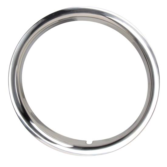 Oer tk3015 15 inch stainless steel round lip trim rings for Do pawn shops buy stainless steel jewelry