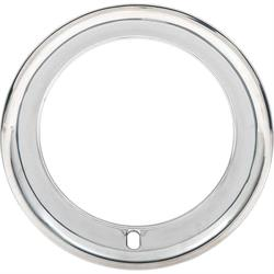 OER TK3125 15 In Stainless Steel Rally Wheel Trim Ring,2-1/4 Deep