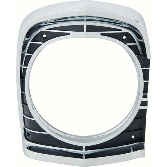 OER 3892282 67 Nova Headlamp Bezel, RH, Original Tooling