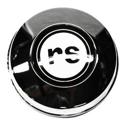 OER KW82 Steering Wheel Horn Cap for 1967 Camaro RS, Chrome