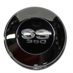 OER 3905583 Steering Wheel Horn Cap for 1967 Camaro SS-350, Chrome