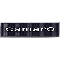 OER 7696122 Standard Door Panel Emblems, 1967 Camaro, Pair