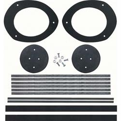 OER K226 Complete Astro Vent Duct Seal Kit for 1967-68 Camaro