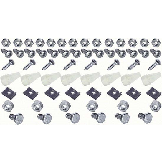 OER K559 Grille Fastener Kit for RS and Standard 1967-68 Camaro