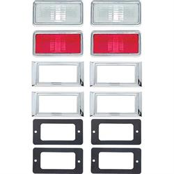 OER R5012 Side Marker Lamp Kit for 1968 Nova/Camaro/Chevelle